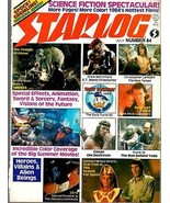 STARLOG MAGAZINE #084 JUL 1984 VF RARE - $7.95