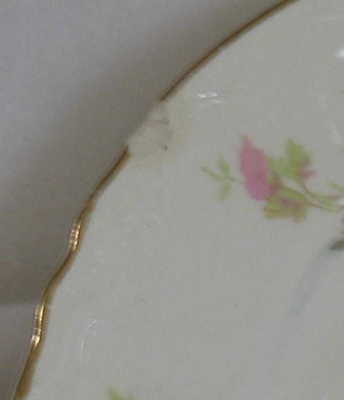 Vintage Homer Laughlin Pink Floral Platter F50N6