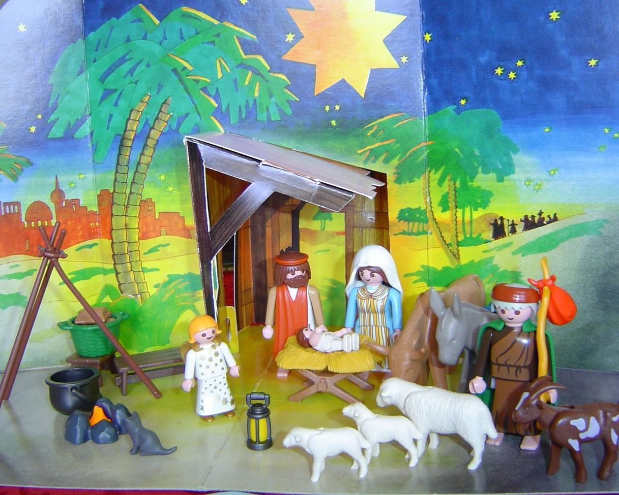playmobil christmas childrens nativity set 3367 2001
