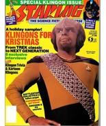 STARLOG MAGAZINE #138 JAN 1989 VF RARE - $7.95