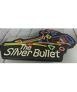 """Coors Light Beer The Silver Bullet Lighted Bar Sign Large 40""""X24"""" Vintag... - $333.33"""