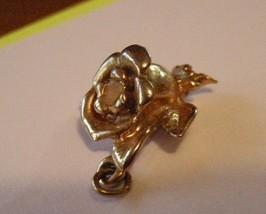 Golden Rose Pendant one inch long - $7.25