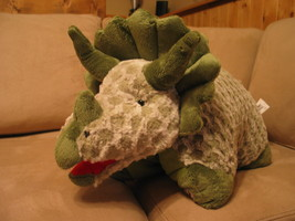 """My Pillow Pets Green Triceratops (Large) 18"""" - $21.00"""