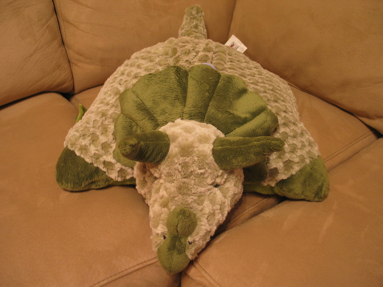 My Pillow Pets Green Triceratops (Large) 18""