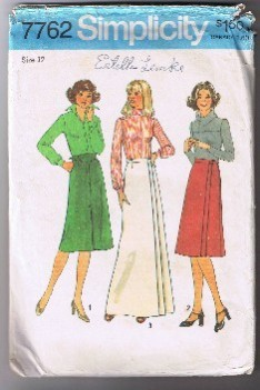 SIMPLICITY 7762 - Misses' Set of Skirts - Size 12 - Cut and Complete