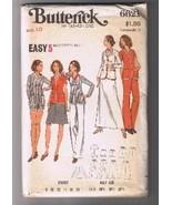 BUTTERICK 6621- Misses' Jacket, Pants, Shorts &... - $4.00