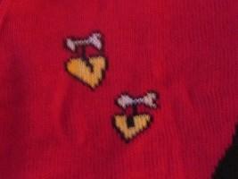 Kobe Kids Red Sweater with Scotty Dog Hearts Girls SZ M 5/6 Valentine NEW image 3