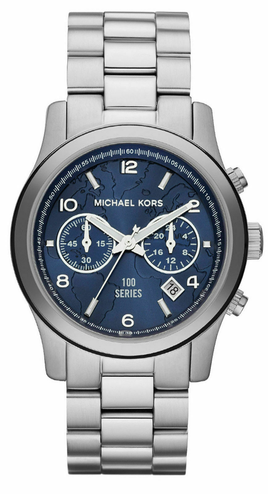 Primary image for Michael Kors MK5814 Runway Stop the Hunger Limited Edition Silver Watch