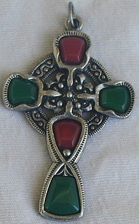 Artistic celtic cross