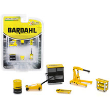 Bardahl 6 piece Shop Tools Set Shop Tool Accessories Series 1 1/64 by Greenlight - $13.19