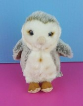 "Wildlife Artists Plush Barn Owl Stuffed Animal 7"" Spotted #A25 - $14.84"