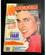Mademoiselle magazine September 1981 - $24.20