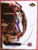 BASKETBALL 2000-01 UPPER DECK OVATION #54   ANTONIOA   DAVIS  TORONTO RA... - $0.99