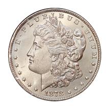 Superb - 1878 P 7/8TF Morgan Silver Dollar - Gem BU / MS / UNC - High Gr... - $227.00