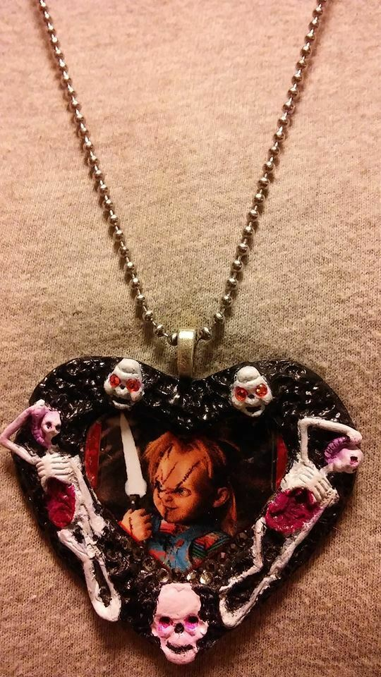 Chucky Childs Play Necklace Horror Collectible Novelty Jewelry image 2