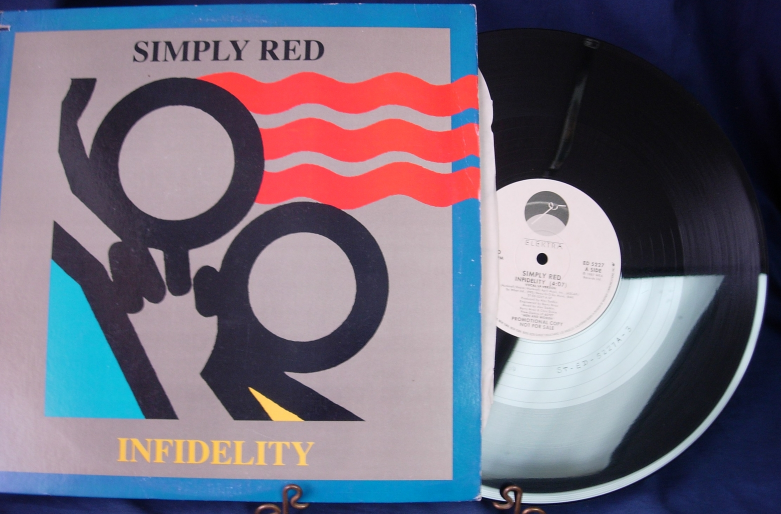 Simply Red - Infidelity - Elektra/Asylum Records ED 5227- PR