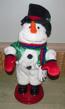 """Gemmy Animated Booty Shaking Singing Snowman """" Shake Your Groove Thing"""" See Demo - $37.22"""