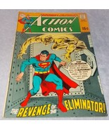Vintage Action Comic Book August 1969 No 379 DC Superman Revenge of Elim... - $9.95