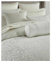 Hotel Collection Plume King White Duvet Cover retail $420 - $241.91