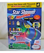 Star Shower Motion Laser Light BulbHead Projector Red Green Christmas Li... - $29.99