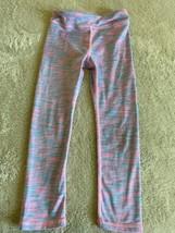 Power Degree By Reflex Baby Girls Pink Blue Yoga Pants Leggings 4T - $8.33