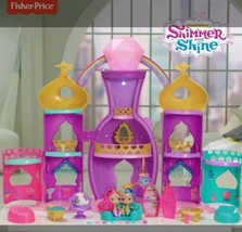 Fisher Price Girls Shimmer Shine Magical Genie Dream Palace Set Christma... - $205.65