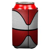 Championship Basketball White & Red All Over Can Cooler - $7.95