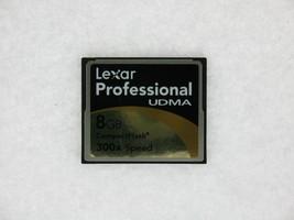 Lexar Professional UDMA 8GB 300X Speed PN:2726 REV A Compact Flash Card