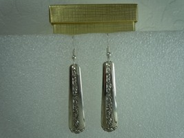 Towle Rambler Rose 1937 Earrings Vintage Sterling - $80.18