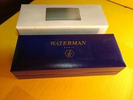 Waterman Fountain Pen With Blue/White Original Case Paris Vintage- NEW- ... - $106.02