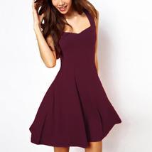 2018 New LASPERAL Summer Dresses Women Sleeveless Fit And Flare Mini Par... - $17.07+