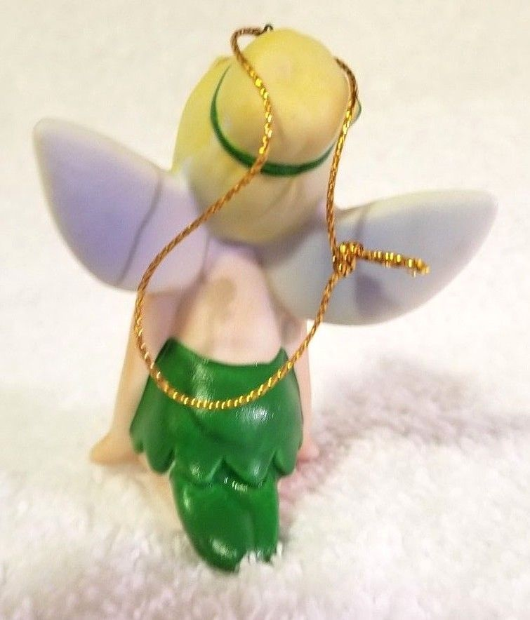VTG Tinker Bell TINKERBELL Disney Christmas Ornament Figurine Japan Porcelain