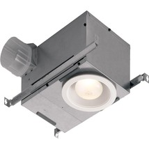 70 CFM Ceiling Bathroom Exhaust Fan with Recessed Light - $129.61