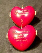 Hallmark Keepsake Christmas Ornaments Two Heart of Christmas Collector Series A image 6
