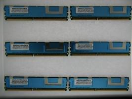 24GB 6x4GB Memory PC2-5300 Ecc Fully Buffered Asus DSBV-D Motherboard - $98.01