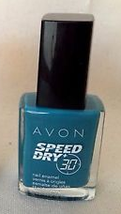 "Avon Speed Dry+ Nail Enamel ""Fast Time Teal"" - $4.25"