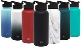 Simple Modern 32 oz Summit Water Bottle - Stainless Steel Metal Flask +2... - $470,47 MXN
