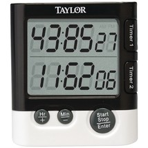 Taylor Dual Event Digital Timer And Clock TAP5828 - $18.18