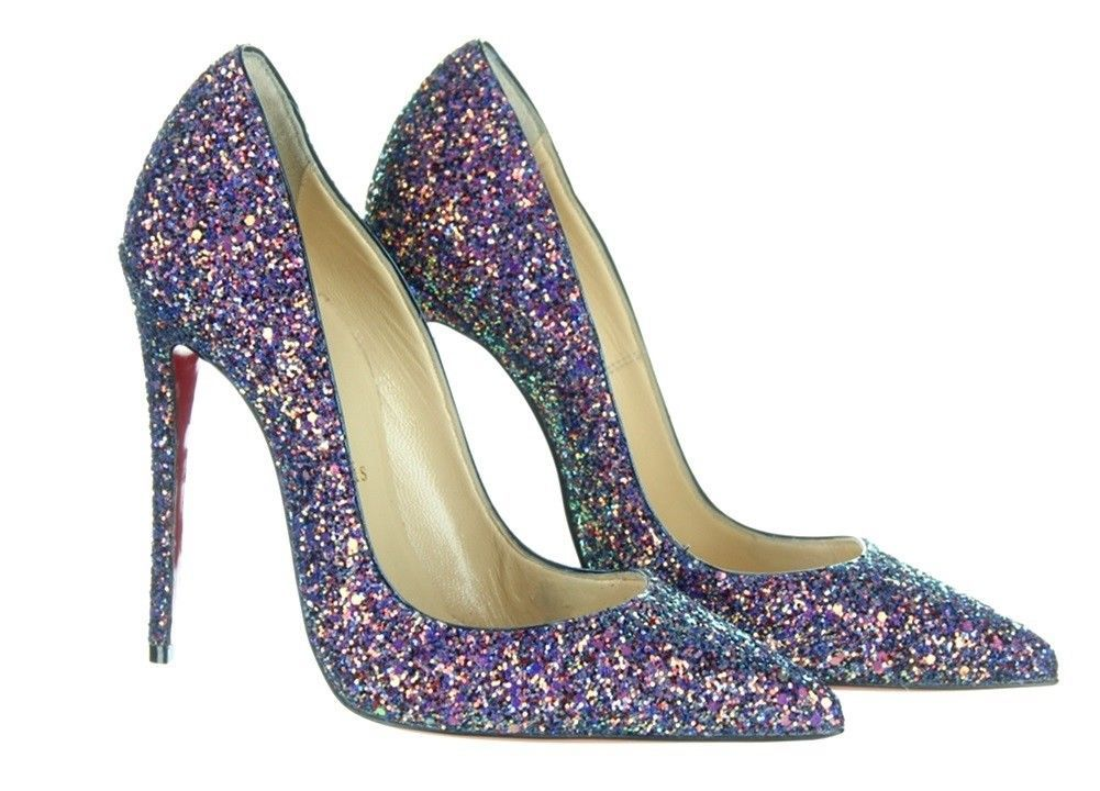 a9d7d50e4b3 Christian Louboutin So Kate Glitter Pumps in and 10 similar items. S l1600