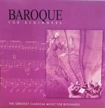 Baroque for Beginners [Audio CD] St. Cecelia Symphony Orchestra - $9.59