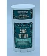 Schmidt's Sage + Vetiver Hemp Seed Oil Enriched Natural Deodorant 2.65 O... - $11.87