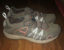 Teva Gray And Orange Mesh And Synthetic Athletic Shoes Men's Size 10 M - $21.99