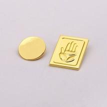 2Pcs JOJOS BIZARRE ADVENTURE Brooch pins Round Brooches Metal Kujo Jotar... - $12.91