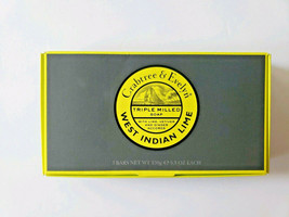 New Crabtree & Evelyn West Indian Lime Triple Milled Soap Bars 3x 5.3oz ... - $32.67
