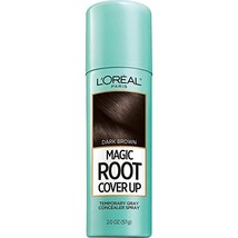 L'Oreal Paris Magic Root Cover Up Gray Concealer Spray Dark Brown 2 oz. - $7.62