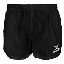 Gilbert Kiwi Pro Rugby Short - Black, 3X-Large image 3