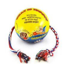"TUGGO Dog Toy Water Weighted Ball Tugg-O-War Medium 7""   4' Rope Durable... - $27.49"