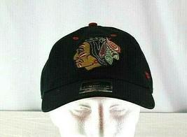 Chicago Blackhawks NHL Black  Baseball Cap Adjustable  - $31.99
