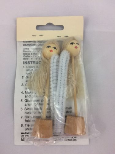 """Syndee/'s Crafts Doll Wig 15-1//2/"""" Doll Brown Braided With Curls 56025 NEW"""