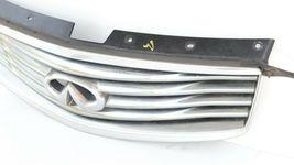 08-15 Infiniti Ex35 Ex37 Qx50 Front Bumper Upper Grille W/ Emblem W/O Camera  image 3